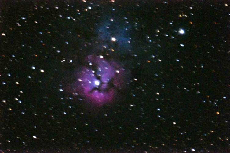 Triffid Nebula M20